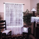 Lace Curtains - how to make, wash and install