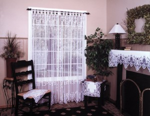 Lace curtains - traditional style