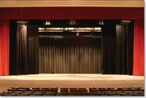 Stage curtains - velvet curtains