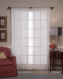 How to make tab top Curtains