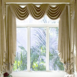 draperies windows curtains