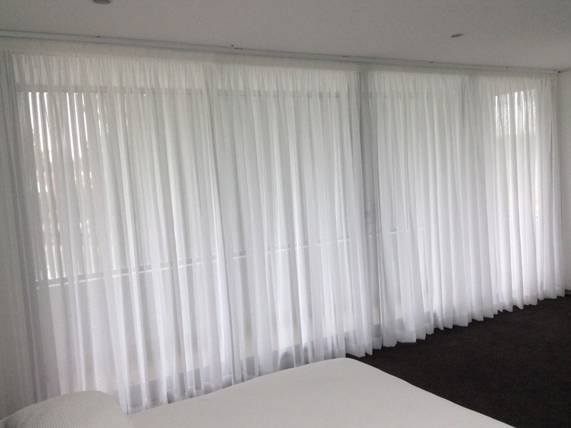 panel voile bluewhitered store free room window for product bedroom trimming tulle drapes gauze white linen curtains sheer curtain living online